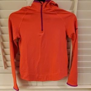 Nike Pro Girls Pullover with Hoodie